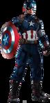 Captain America -  Transparent by Asthonx1