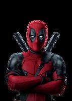 Deadpool - Transparent by Asthonx1