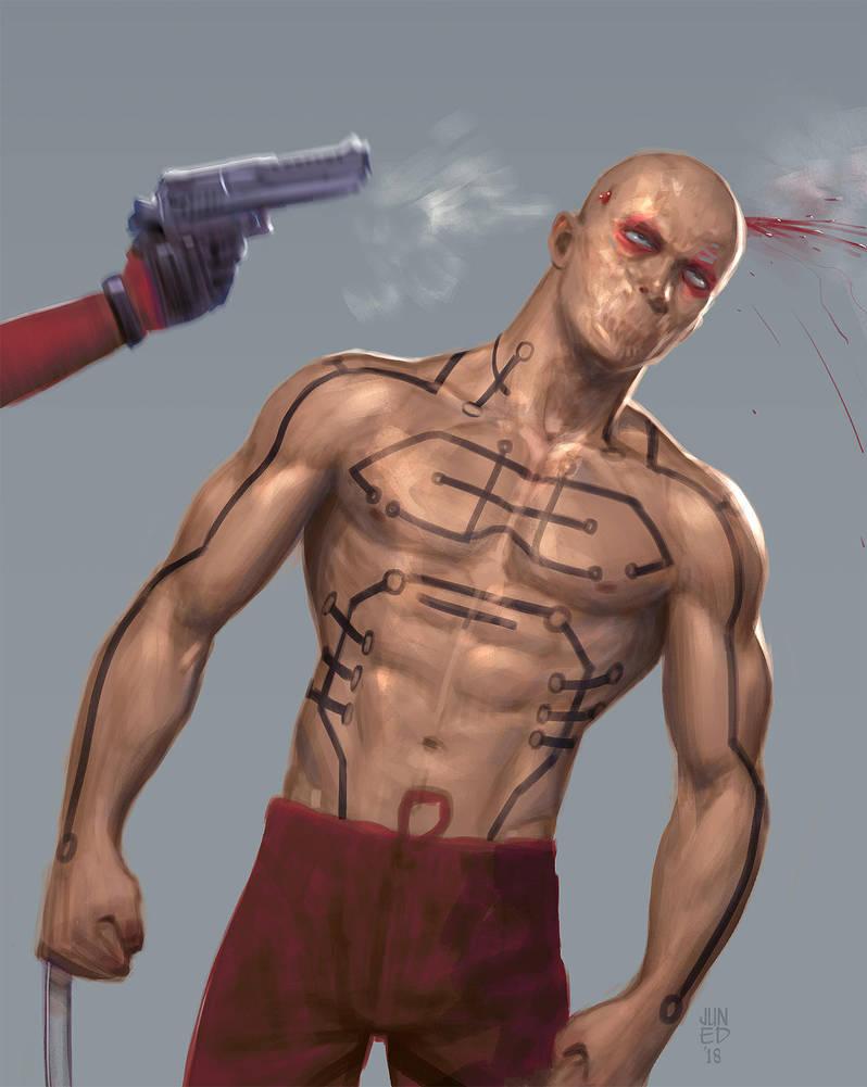 Deadpool by JUNAIDI