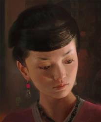 Asian Lady by JUNAIDI