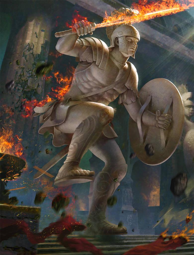 The Column of War by JUNAIDI