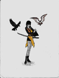 The Raven by Sabrina-Icestaff