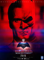 Man of steel:Worlds Finest (Superman and Batman) by Sumitsjc