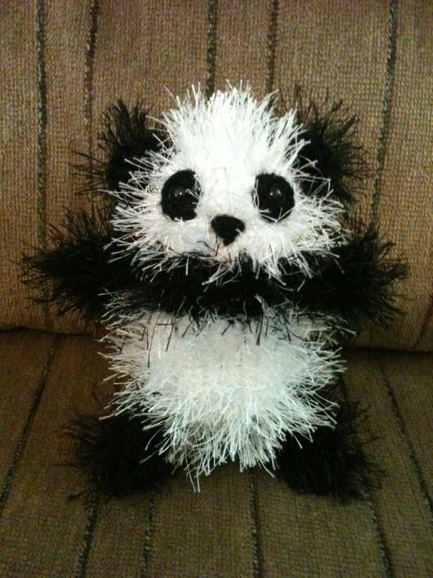 Panda by tape-artist