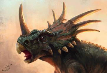 Styracosaurus by VSales
