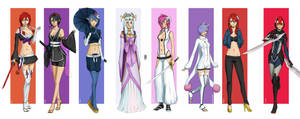 Commission : 8 characters by mkw-no-ossan