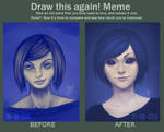 Draw this again! Meme. by mkw-no-ossan