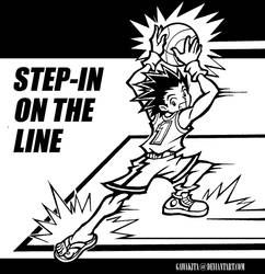 Slam Dunk Step-In on the Line by gawakita