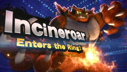 Incineroar enters the Ring! by serenawolfy