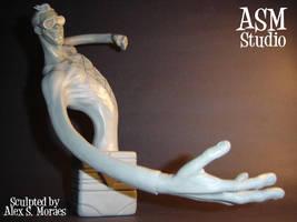 Plastic Man Mini Bust pic1 by ASM-studio