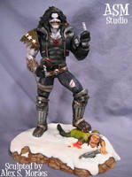 LOBO Statue Painted Pic 02 by ASM-studio