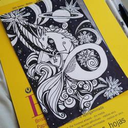 Capricorn Card by ravens-hearth