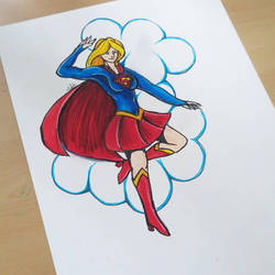 Supergirl by ravens-hearth