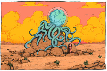 Desert Jellyfish by CCDriver
