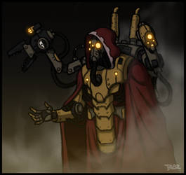 Techpriest by Blazbaros