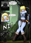 Katja and the Knights of Ni by Blazbaros