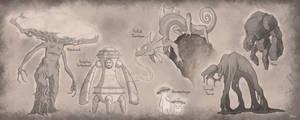 Felarya Critter Ideas by Blazbaros