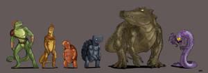 U'rth: Reptilians Part 2 by Blazbaros