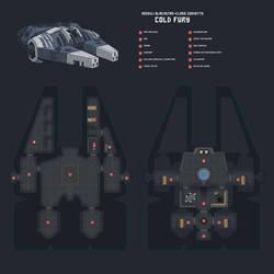 Cold Fury Deckplan by Blazbaros
