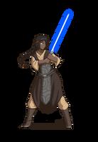 Jedi Knight Adonia by Blazbaros