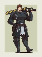 Tyrian Guardswoman by Blazbaros