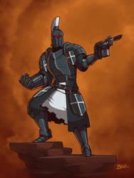 Tyrian Guardsman Officer by Blazbaros