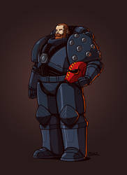 Rogue Trader - Field Police by Blazbaros