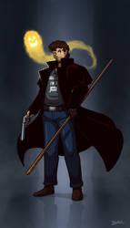 Harry Blackstone Copperfield Dresden by Blazbaros