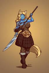 Fenri Warrior by Blazbaros