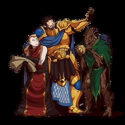 Questward: Kaladen, Phinneus and Eucalyphus by Blazbaros