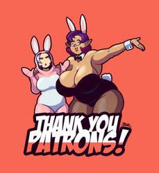 #ThankYouPatrons by Blazbaros