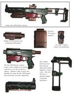 Nerf Recon CS-6 WH40k by precinctomega