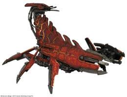 Brass Scorpion by precinctomega