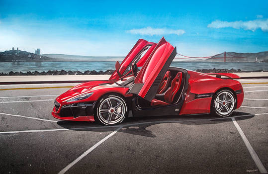Rimac C_Two by Veyron777