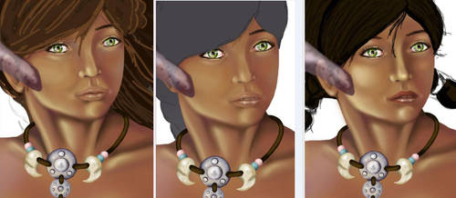 Facial Evolution - for better or worse? by Therena-C-Art