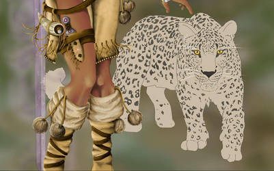 Leopard - WIP by Therena-C-Art