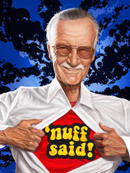 Stan Lee by markdraws