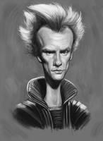 Sting Sketch by markdraws