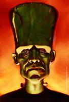 Frankenstein by markdraws
