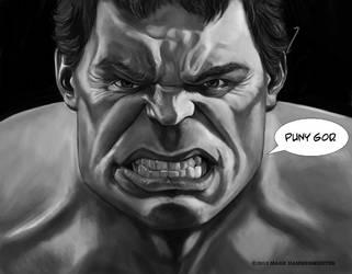 Hulk Sketch by markdraws