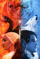 Game of Thrones by markdraws