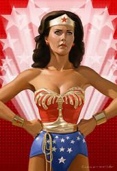 Wonder Woman by markdraws