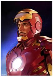 Iron Man by markdraws