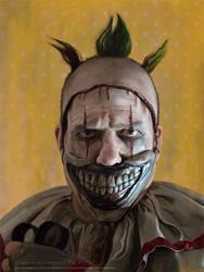 Twisty the Clown by markdraws