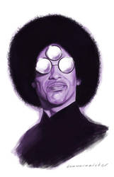Prince by markdraws