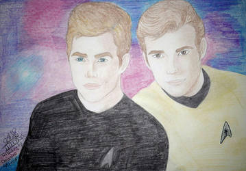 Star Trek Captain Kirk by ChristinePresley
