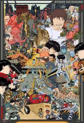 Akira tribute by drelium
