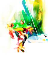 kurrba frog by bboypion