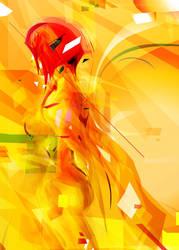 girl in the sun by bboypion