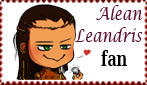 Alean Leandris chibi fan stamp by Nefermeritaset
